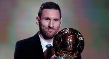 Lionel Messi Raih Ballon d'Or 2019