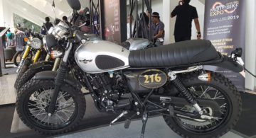 Motor AS 250cc Cleveland Cyclewerks