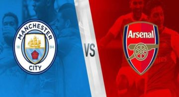 Susunan Pemain Manchester City vs Arsenal