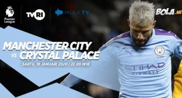Manchester City vs Crystal Palace 18 Januari 2020