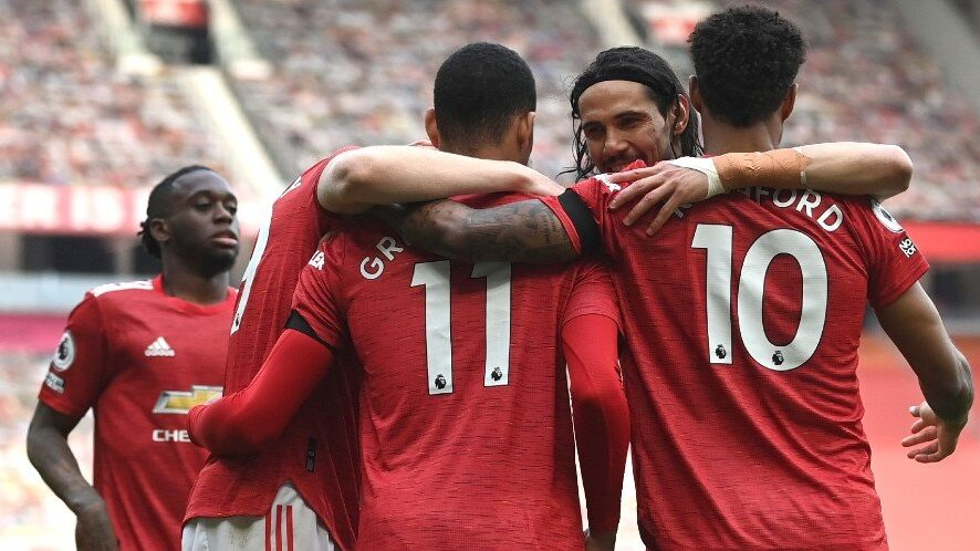 Hasil Pertandingan Manchester United vs Burnley: Skor 3-1